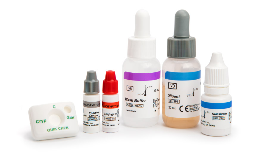 Giardia/Cryptosporidium QUIK CHEK product image